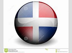 Round Flag Of Dominican Republic Stock Image Image 4647501