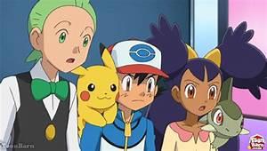 Pokemon Cilan And Ash | www.imgkid.com - The Image Kid Has It!