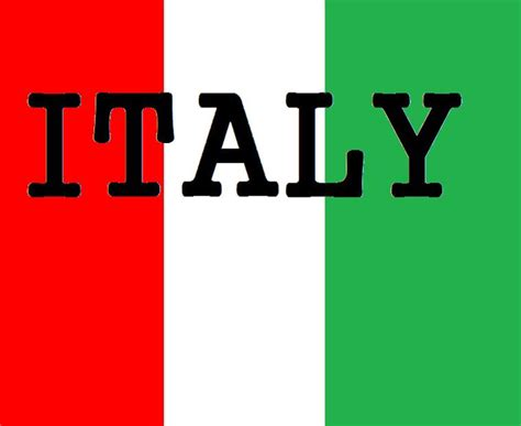 Italian Flag Bunting - Little Linguist - Clip Art Library