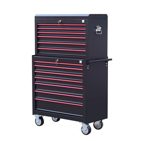 Home Depot Tool Chest On Wheels by Heavy Duty Tool Storage Cabinet Box Steel Chest 7 Drawers