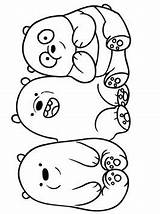 Bears Bare Coloring Votes sketch template