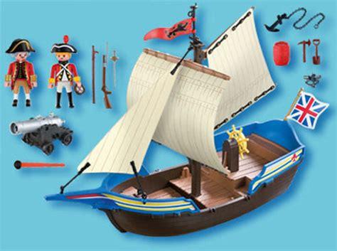 Barco Pirata Playmobil Carrefour by Playmobil 5140 Navire Britannique Play Original
