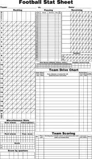 Baseball Player Stat Sheet Template