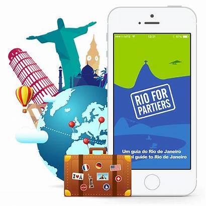 App Tour Guide Travel Tourism Mobile Dmo