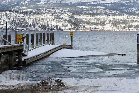 Boat Crash Kelowna by Cer Crashes Through On Okanagan Lake At Kelowna