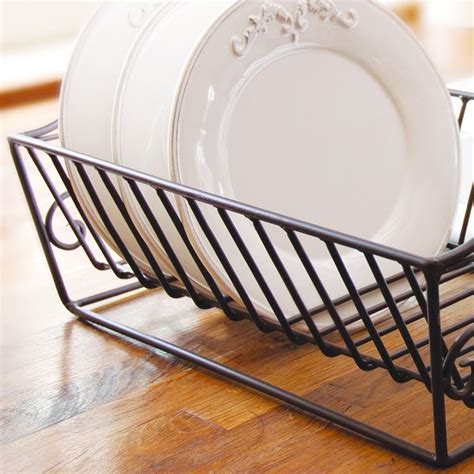 farmhouse kitchen plate drainer