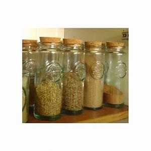 Pots à épices : pots pices bouchon en li ge achat et conseils l 39 ile aux pices ~ Teatrodelosmanantiales.com Idées de Décoration