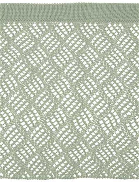 Free Drapery Patterns by Dappled Lace Caf 233 Curtain Pattern Knitting Patterns And