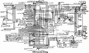 Chevrolet 1956 Corvette Wiring Electrical Diagram