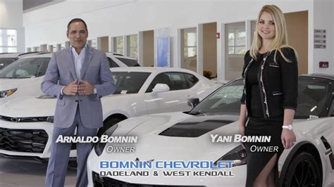 bomnin chevrolet committed  excellence youtube