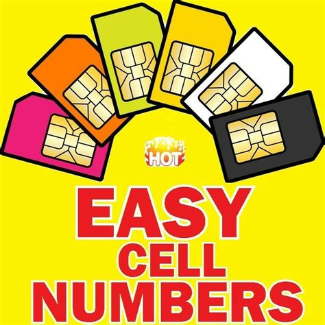 easy cell numbers  sale perfect  businessmarketing