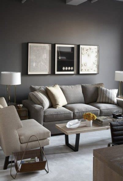 loving gray walls furniture gray couches and accent pillows