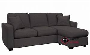 702 fabric chaise sectional by stanton is fully With hayden sectional sofa with reversible chaise