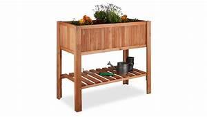 Hochbeet Kaufen Holz : hochbeet aus tannenholz mit ablagefach kaufen ~ Watch28wear.com Haus und Dekorationen