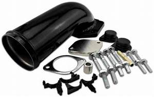 Ford 6 4l V8 Power Stroke Egr Valve Delete Kit W   Elbow F