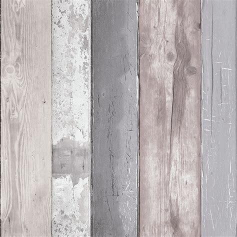 hout behang vtwonen vliesbehang steigerhout grijs dessin 50 159
