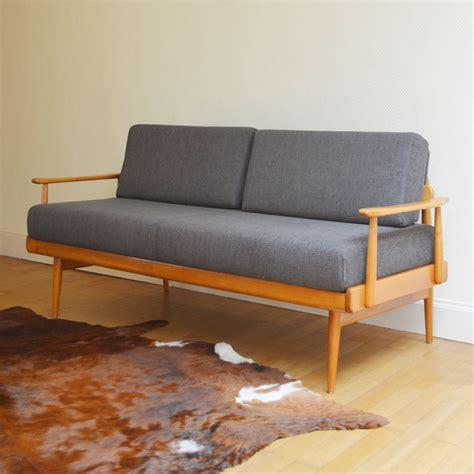 canapé lit scandinave vintage sofa daybed scandinave vintage
