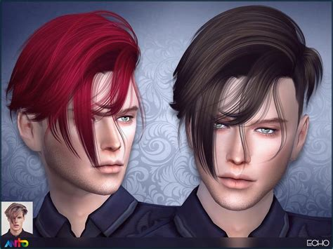 messy shavedmid length hair   sims   tsr category sims  male hairstyles sims