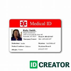 19 best healthcare hospital badge images on pinterest for Hospital id badge template