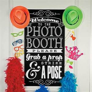 DIY Photo Booth Supplies & Backdrops Oriental Trading
