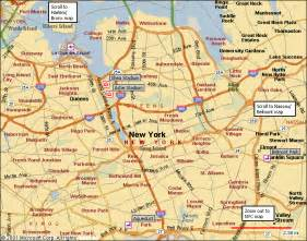 New York Map Queens NY