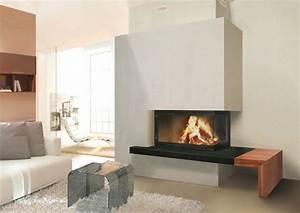 Cheminée à Foyer Ouvert : cheminee foyer ouvert philippe ~ Premium-room.com Idées de Décoration