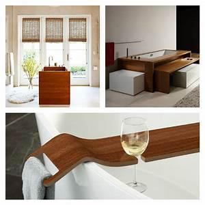 Accessoires De Salle De Bain : accessoire salle de bain bois maison design ~ Dailycaller-alerts.com Idées de Décoration