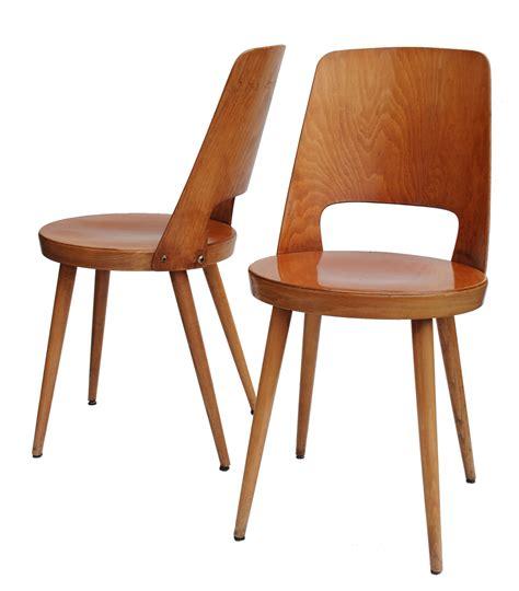chaise bistrot baumann patine claire sur bovintagecom