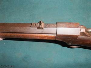 "Ball & Williams Carbine, 44 RF, 22"" Oct/round barrel, NICE!"