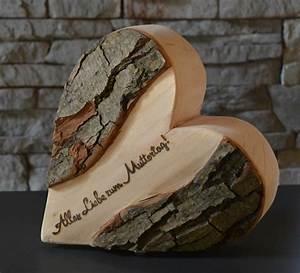 Hochzeitstag Geschenk Selber Machen : alles liebe zum muttertag 21 cm holzdeko holzliebe iserlohn geschenke aus holz made in ~ Frokenaadalensverden.com Haus und Dekorationen