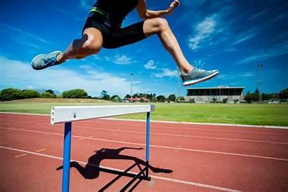 Hurdles Three Jump Challenges Innovation Sales Jumping