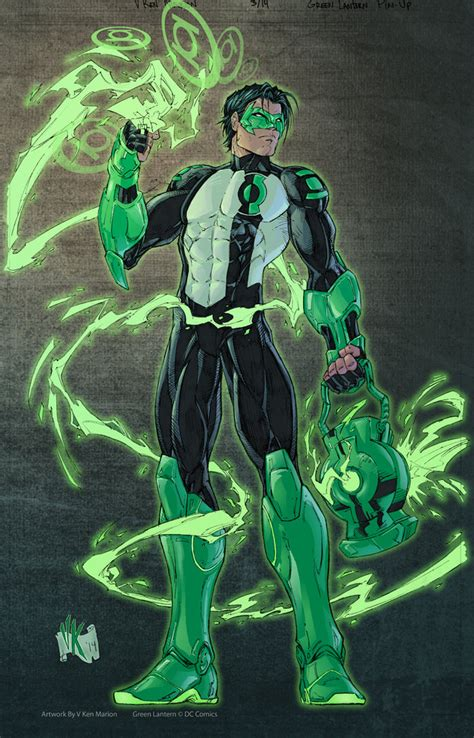 kyle rayner green lantern kyle rayner color by vmarion07 on deviantart
