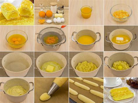Eklēri ar apelsīnu krēmu - Laiki mainās!