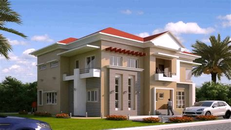 large modern duplex home plans modern house plan