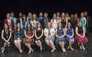 Students recognized for outstanding academic achievement ...