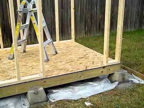 build  storage shed platform goehs