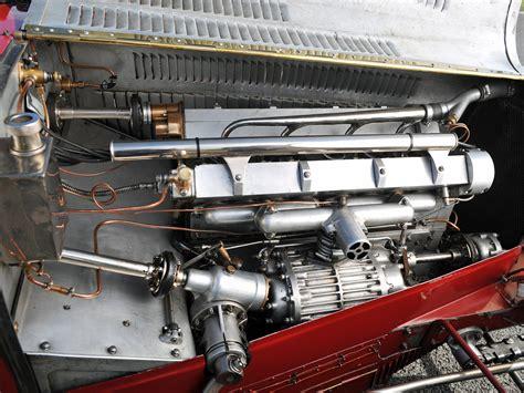 1933 Bugatti Type-51 Grand Prix Retro Race Racing Engine