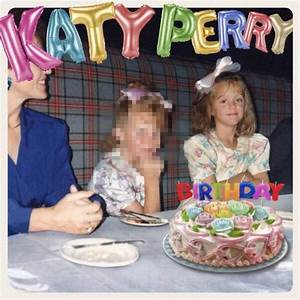 "Katy Perry Reveals Cover Art for New Single ""Birthday"""
