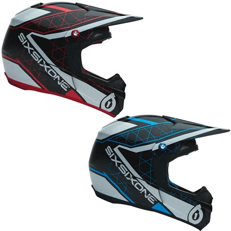 sixsixone motocross helmet sixsixone fenix grid motocross helmet clearance