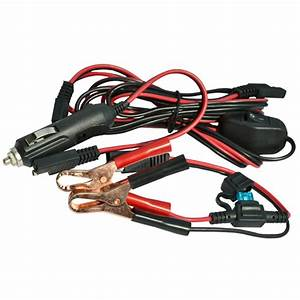Wiring Harness With Battery Clip  U0026 Adapter