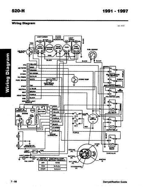 Toro Wheel Demystification Electical Wiring Diagrams