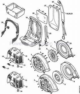 30 Stihl Br 350 Parts Diagram