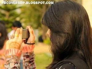 girl with cellphone fb dp, cute girl facebook dp, facebook ...