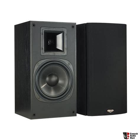 klipsch bookshelf speakers klipsch synergy series sb 3 bookshelf speakers photo