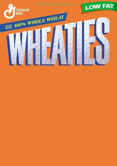 blank wheaties box champion quotes birthday template