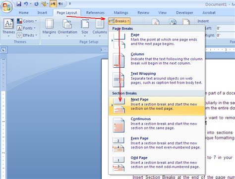 How To Remove Header And Footer From Part Of A Document