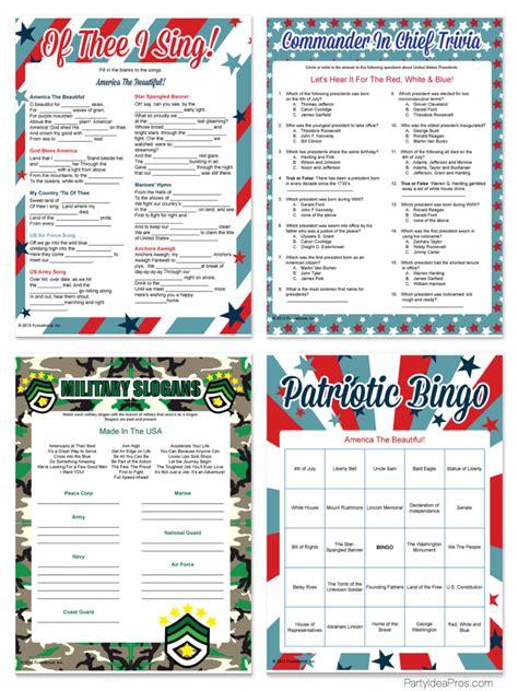 4th of july trivia 7 best images of printable patriotic trivia veterans day trivia printable memorial day