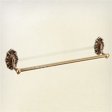 Decorative Rose Gold Bathroom Accessory Towel Bars
