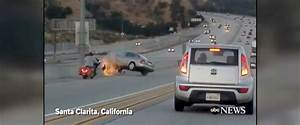 Dramatic video shows alleged road rage incident on ...