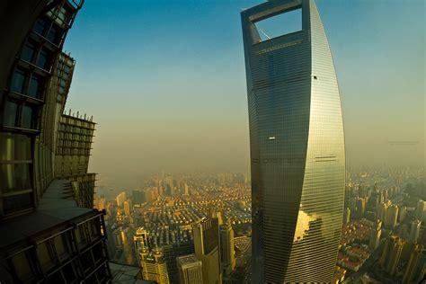 shanghai world financial center lujiazui financial